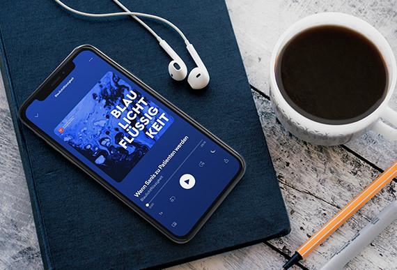 Blaulichtflüssigkeit Podcast